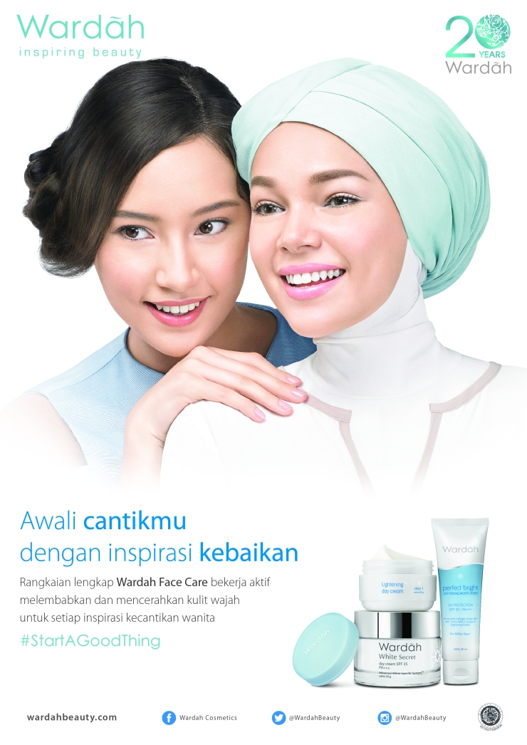 Wardah Face Care Print Ad