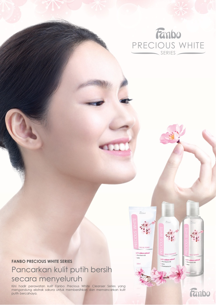 Fanbo Facial Sakura Series Print Ad