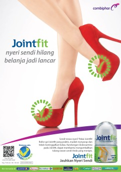 Jointfit High Heels Print Ad