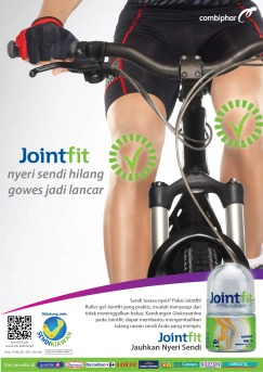 Jointfit Bike Print Ad
